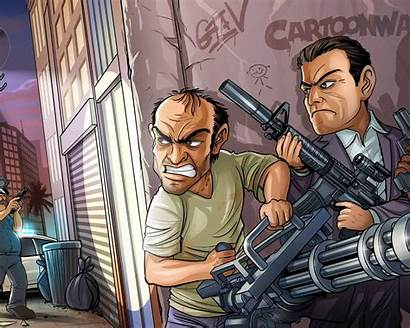 Gta 4k Wallpapers Grand Theft Laptop Pc