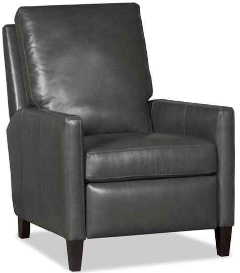 Light Leather Recliner by Castiel Light Gray Recliner By Bradington From