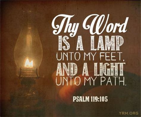 thy word is a l unto my scripture words and psalms on