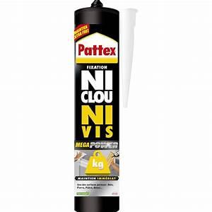 Colle Extra Forte Pour Plastique Dur : colle mastic ni clou ni vis mega power pattex 370 g ~ Edinachiropracticcenter.com Idées de Décoration