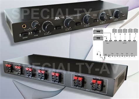 New Speaker Selector Switch Level Volume Control Ebay