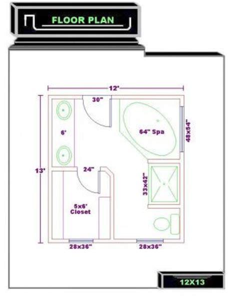 his and bathroom floor plans bathroom floor plans bathroom plans free 12x13
