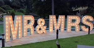 illuminated letter for hire weddings proms parties With rent marquee letters