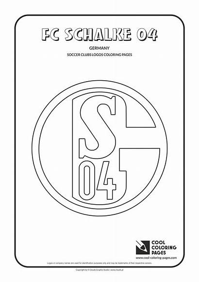 Coloring Pages Schalke Soccer Cool Fc Arsenal