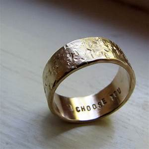 wedding bands your groom will love unique wedding rings With wedding ring replacement ideas