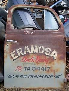 377 best images about truck door art on pinterest With old school truck door lettering
