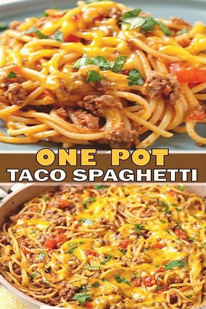Spaghetti Dinner Easy Recipes Taco