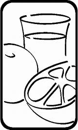 Juice Orange Drinks Coloring Pages sketch template
