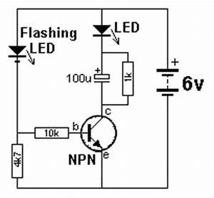 circuits collection npn transistor led flasher With related circuits simple 555 led flasher 555 led flasher one transistor