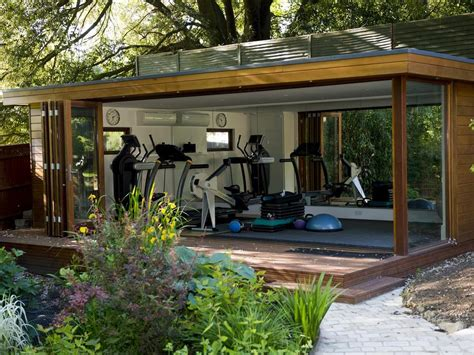 Personal Garden Gym, Outdoor Gym Buildings Uk, Exercise