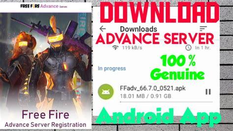 Visit the free fire advanced server website. how to download free fire advanced server |0B20| free fire ...