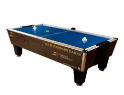 standard 8 foot table gold standard games 8 foot home tournament pro air hockey