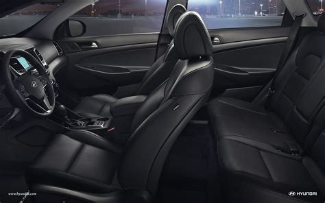 tucson limited black leather interior tucson suv