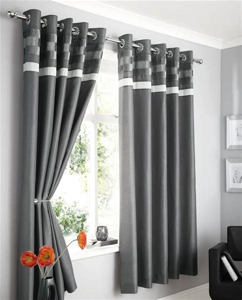 charcoal grey curtains modern faux silk lined curtains plum brown black or