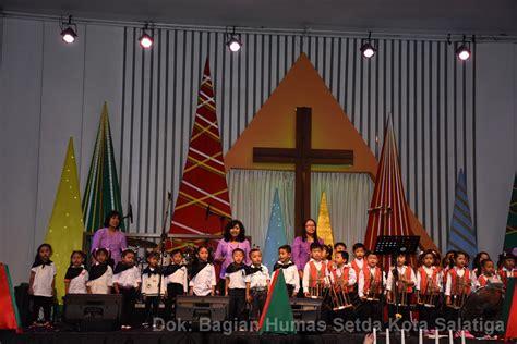 perayaan natal pns tni polri guru  karyawan tingkat