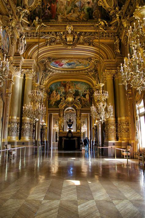 grand foyer grand foyer frescoes and fireplace palais garnier