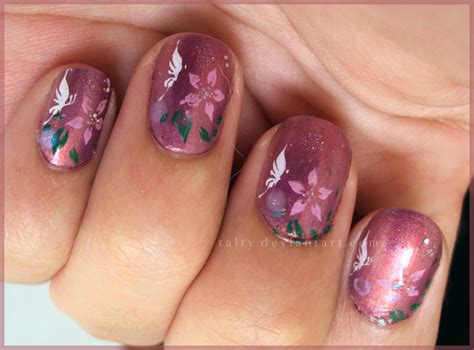 butterfly nail designs enchanted butterfly nail by talty on deviantart