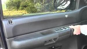 How To Remove Door Panel 2008 Chevrolet Silverado 1500 Lt
