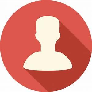 Contact Icon | Long Shadow Media Iconset | PelFusion