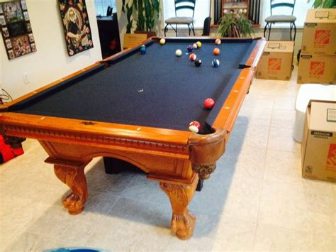 american heritage pool table for sale american heritage pool table rack 2 pool captain chairs