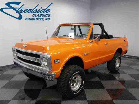 1969 Chevrolet Blazer K5 4x4 For Sale Classiccarscom