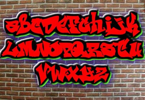 Graffiti Font Maker :  Graffiti
