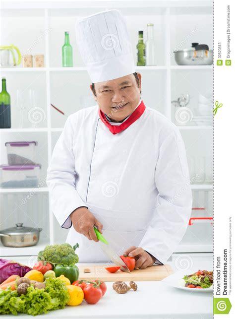chef cuisinier professionnel photos stock image 32523813