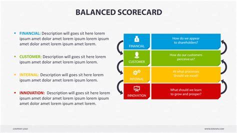 balanced scorecard powerpoint  creapack graphicriver