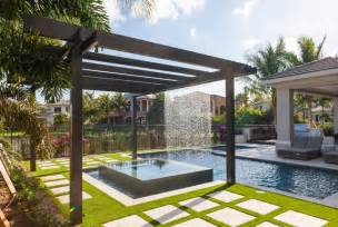 Glam Bathroom Ideas Trellis Pergolas Contemporary Pool Miami By Coastal Screen And Rail