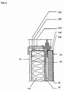 patent us20080245007 gypsum wood fiber structural With wiring a sips house