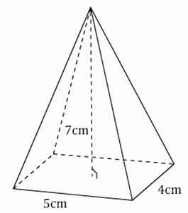 Calcul Volume Litre : calcul du volume d 39 une pyramide base g om trie dans l ~ Melissatoandfro.com Idées de Décoration