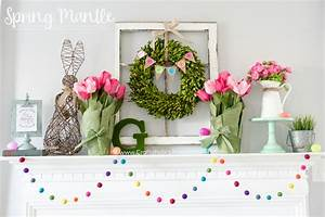 Craftaholics Anonymous® Spring Mantle