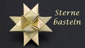 Sterne Weihnachten Basteln : sterne basteln zu weihnachten fr belsterne falten einfache anleitung youtube ~ Eleganceandgraceweddings.com Haus und Dekorationen