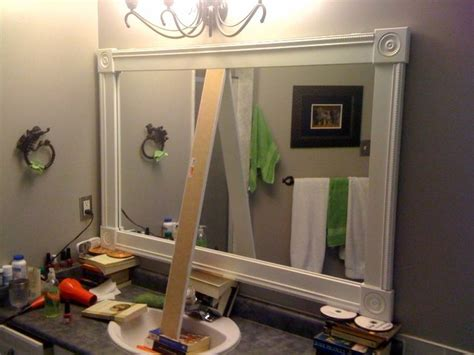 Image Detail For -diy Bathroom Mirror Frame Project