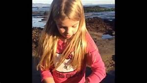 Mia Talerico at the beach! - YouTube