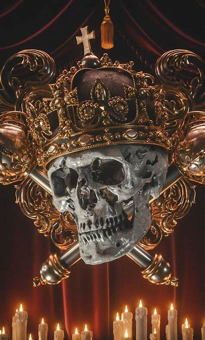 Crown Skull Head Iphone Wallpapercan 1080p Galaxy
