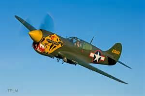 "Texas Flying Legends Museum P-40K Warhawk ""Aleutian Tiger ..."