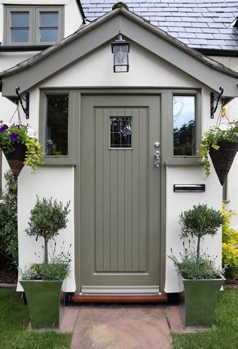 cottage front doors study essex flush casements timber front door