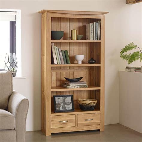 Solid Oak Bookcase by Tokyo Solid Oak Bookcase Living Room Furniture