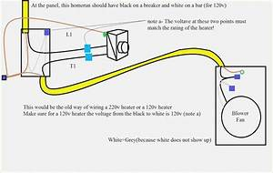 New Wiring Diagram For 240v Baseboard Heater Wired