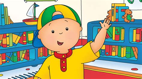 Animated Funny Cartoon ¦ Caillou Gets In Trouble