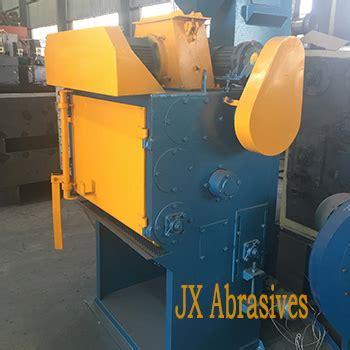 rubber tumblast shot blast machine jx abrasives
