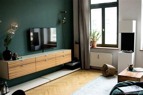 farbe für wohnzimmer wand dunkelgr 252 ne wandfarbe im wohnzimmer kolorat