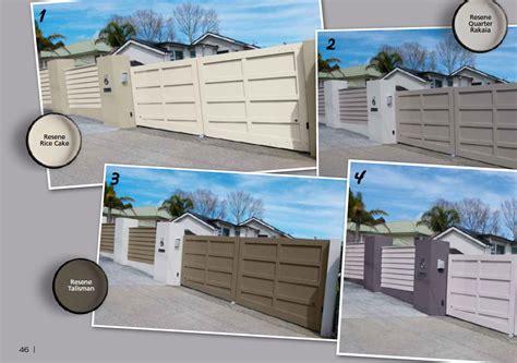 Two-tone Colour Schemes For Fences