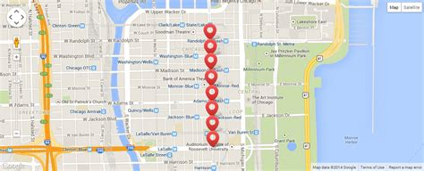 mcdonalds thanksgiving parade  chicago route map
