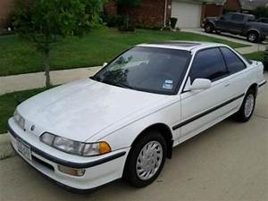 Acura INTEGRA in Frost White (NH538) from 1991-1993 #13