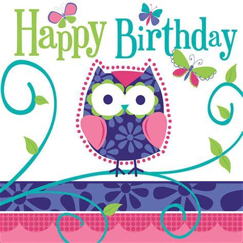 Happy Birthday Owl Images Owl Pal Birthday Supplies Owl Pal Birthday Lunch