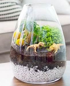 Terrarium Plante Deco : un terrarium la touche d co pour les plantes dans la maison ~ Dode.kayakingforconservation.com Idées de Décoration