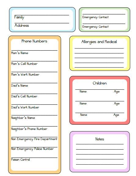 au pair daily schedule template best 25 nanny binder ideas on pinterest babysitting