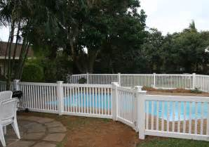 Swimming Pool Fence Fencing Maintenance Pvc 24+ Above Ground Pool Fence Design You Must See!